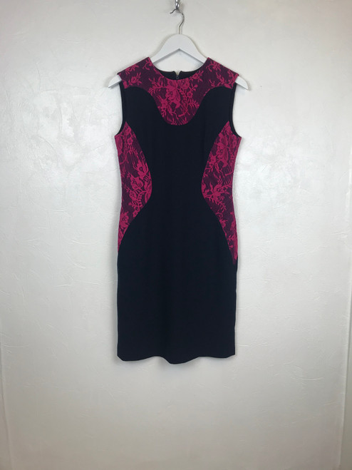 Erdem Lace Panel Pencil Dress
