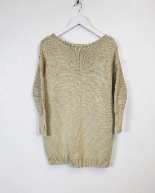 Acne Zip Back Jumper