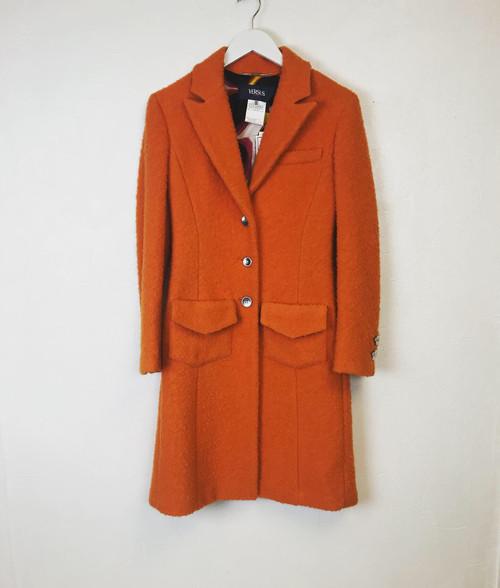 Versace Wool Coat, Pre Owned Designer