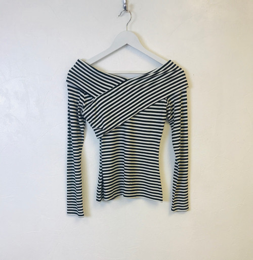 Theory Stripe Top