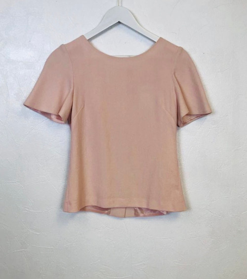 Pre Owned Goat Fashion Button Back Top