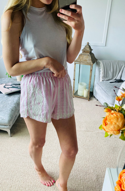 Pre Owned Juliet Dunn Candy Cotton Shorts