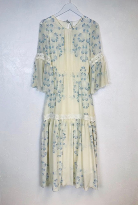 Pre Owned Athena Procopiou Silk Maxi Dress