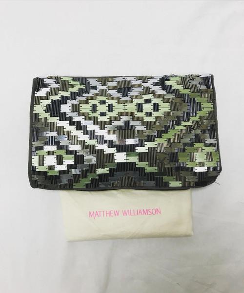 Pre Owned Designer, Matthew Williamson Beaded Clutch Bag