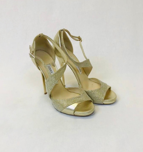 Jimmy Choo Tyne 120 Sandals, Pre Owned Designer