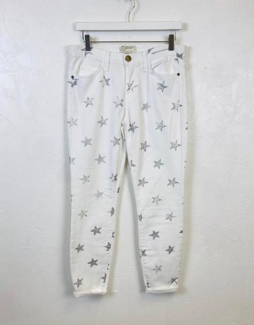 Current Elliott Star Jeans, Pre Owned Designer
