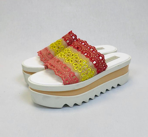 Stella McCartney Flatform Slides, Pre Owned Designer