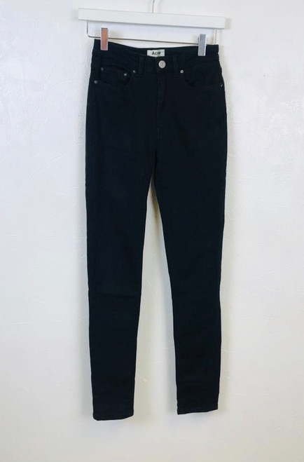 Acne Studios Pin Black Jeans, Pre Owned Designer
