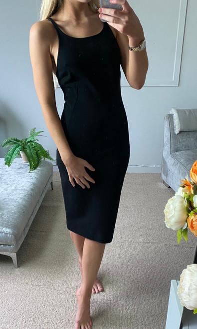 Dolce & Gabbana Midi Dress, Pre Owned Designer