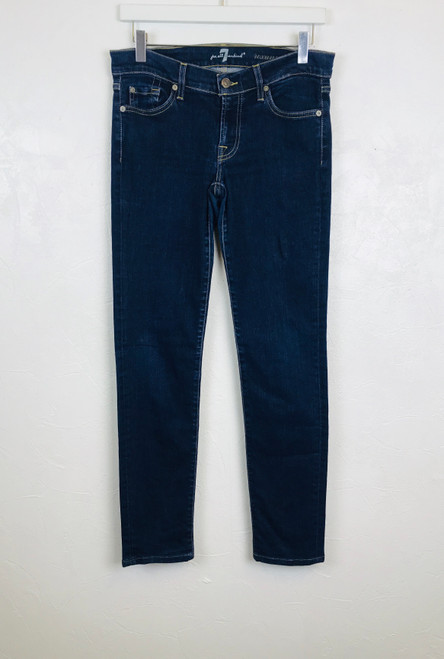7FAM Low Rise Jeans, Pre Owned Designer