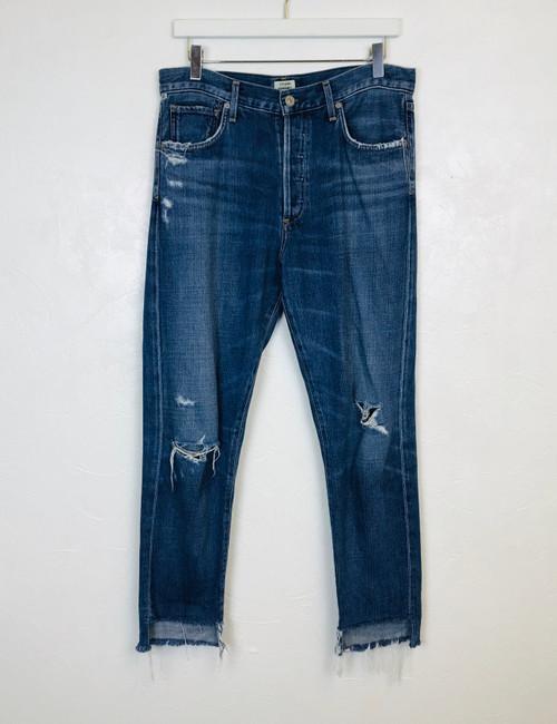 CofH Hi Lo Hem Jeans, Pre Owned Designer