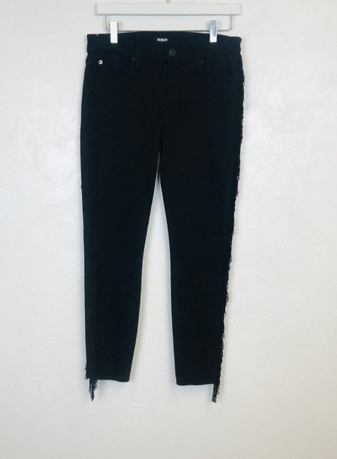 Hudson Tassel Side Jeans, Pre Owned Designer