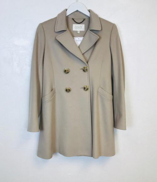 Goat Cashmere Coat, Pre Owned Designer