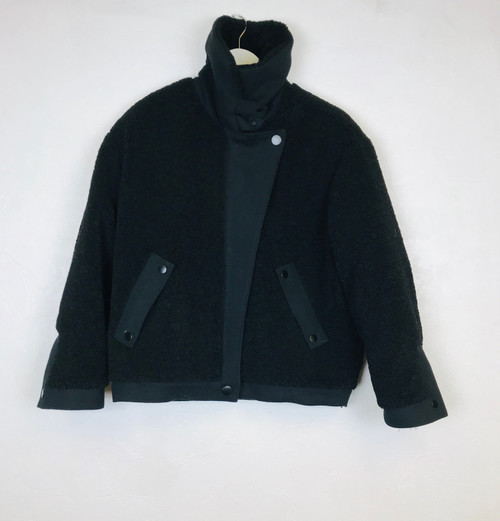 Ba&sh wool bomber coat. Pre-Owned Designer