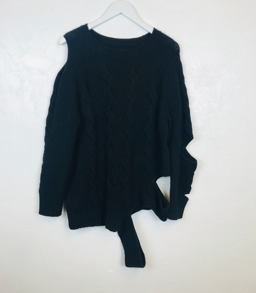 Zoe Jordan Cut Out Jumper. Pre-Owned Designer