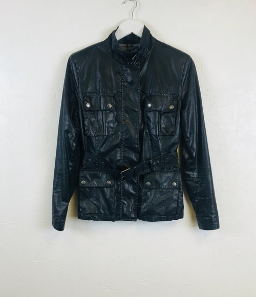 Belstaff Waxed Cotton Jacket. Pre-Owned Designer.