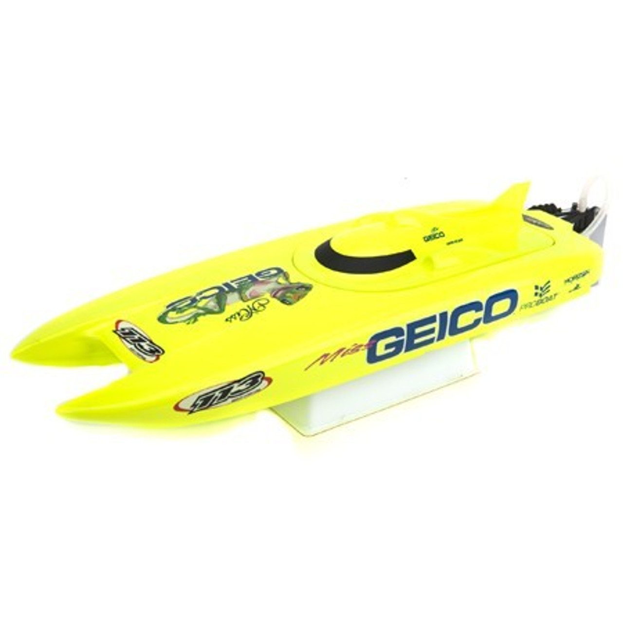 Pro Boat Miss Geico 17in RC Catamaran RTR