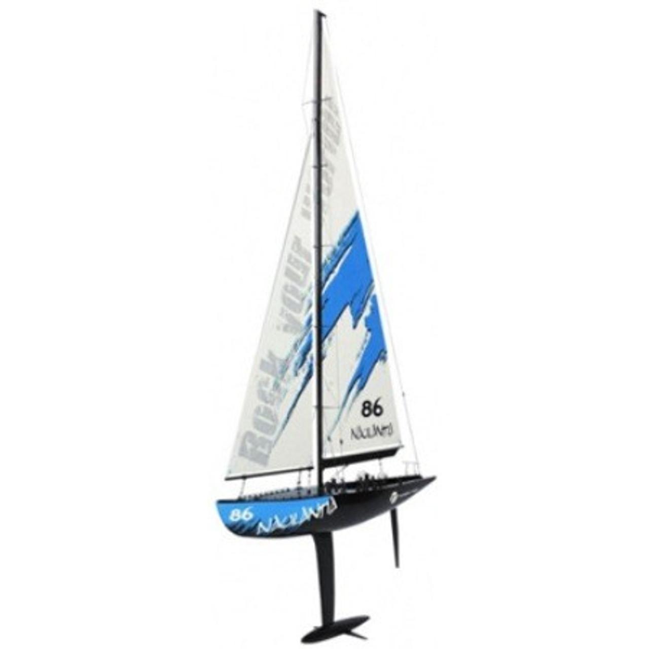 Thunder Tiger Naulantia 1M Racing RC Yacht (Blue)