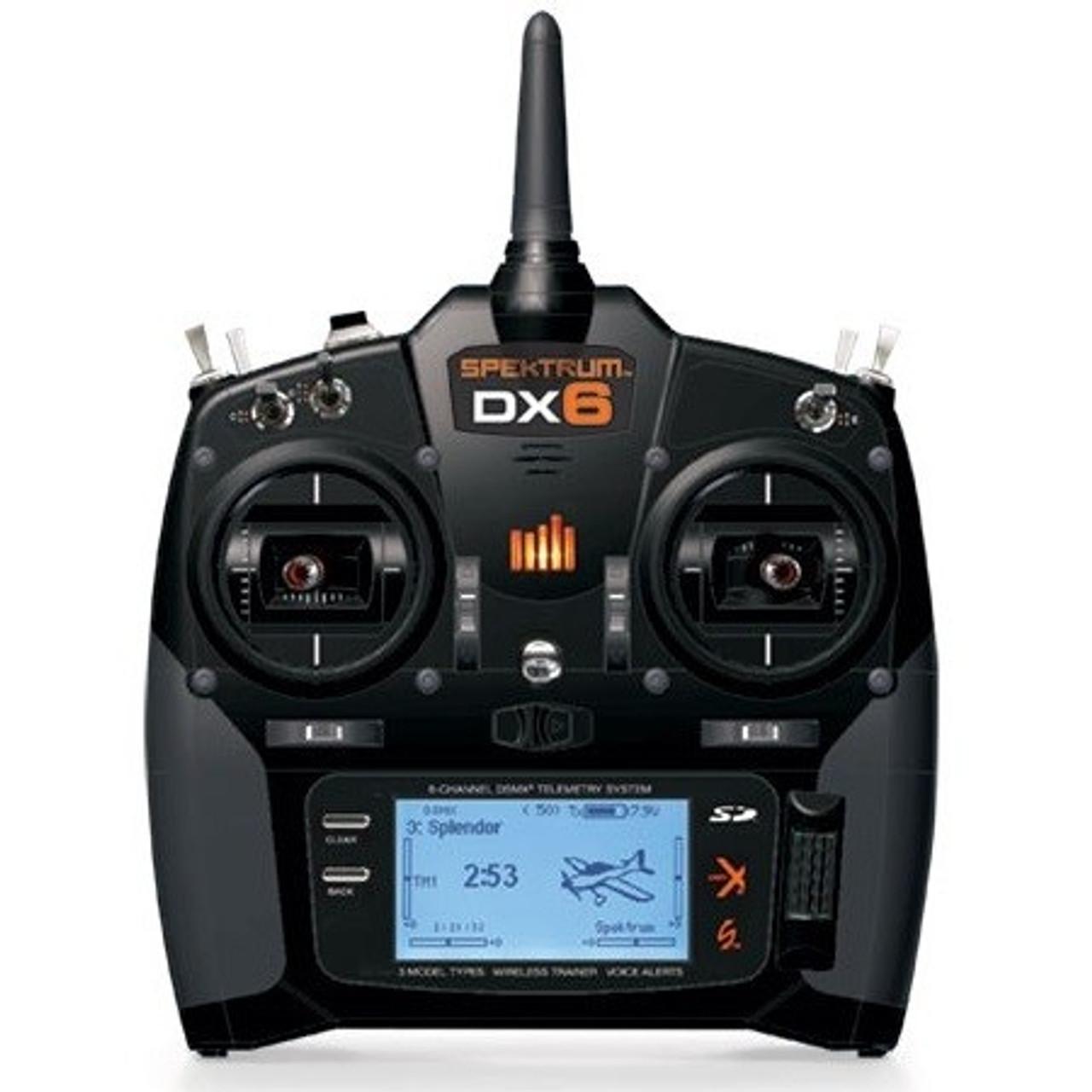 Spektrum DX6 6ch System w/ AR610 Receiver Mode 1