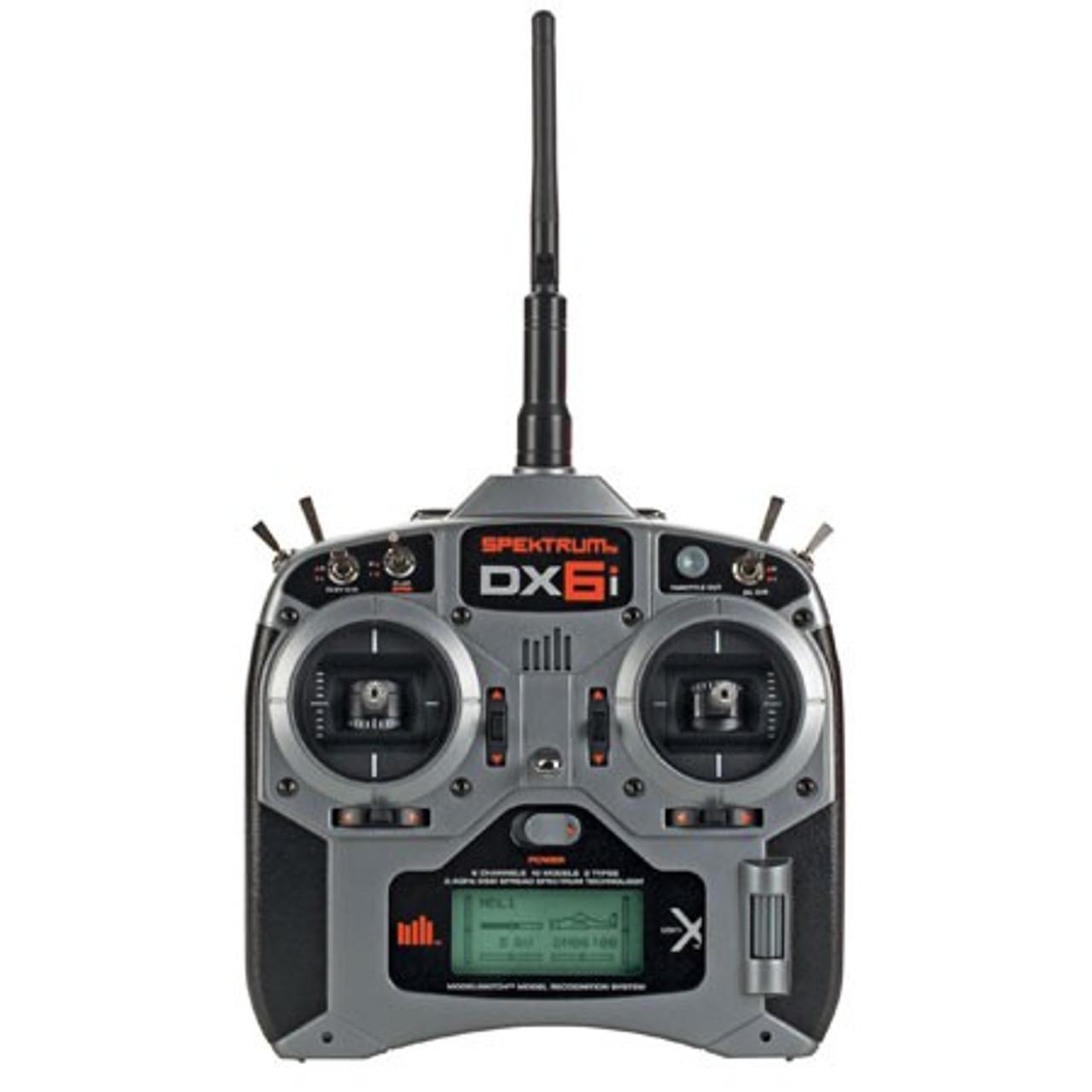 Spektrum DX6i Transmitter Mode 1 w/ AR610 Receiver