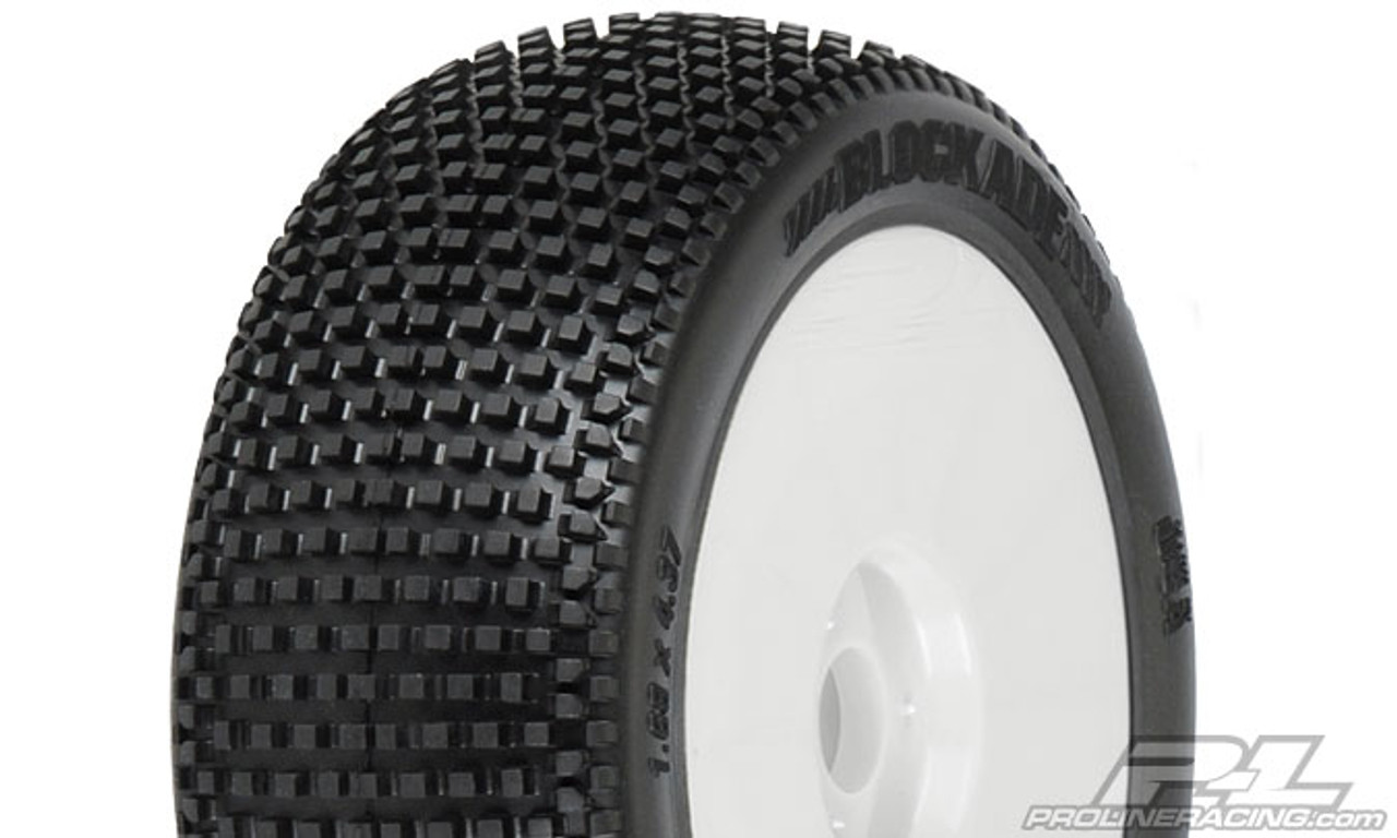 Blockade M3 (Soft) Off-Road 1:8 Buggy Tyres Mounted