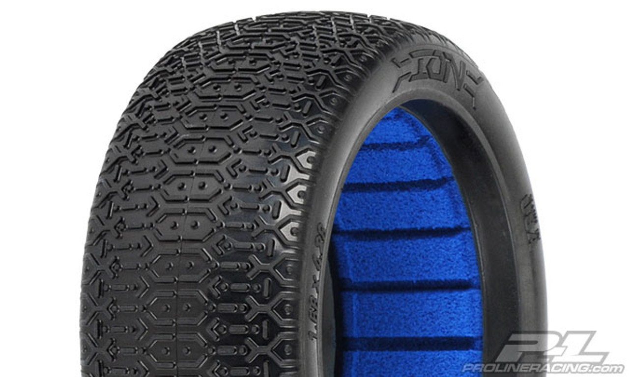 ION MC (Clay) Off-Road 1:8 Buggy Tyres 2PCS