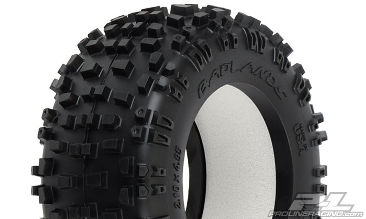 "Badlands 2.8"" (Traxxas Style Bead) All Terrain Truck Tyre 2PCS"