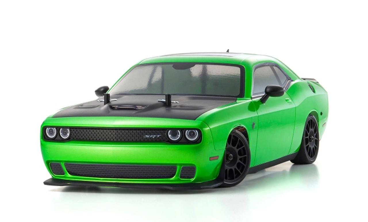 Kyosho 1/10 Fazer VEi Brushless - 2015 Dodge Challenger SRT (Green)