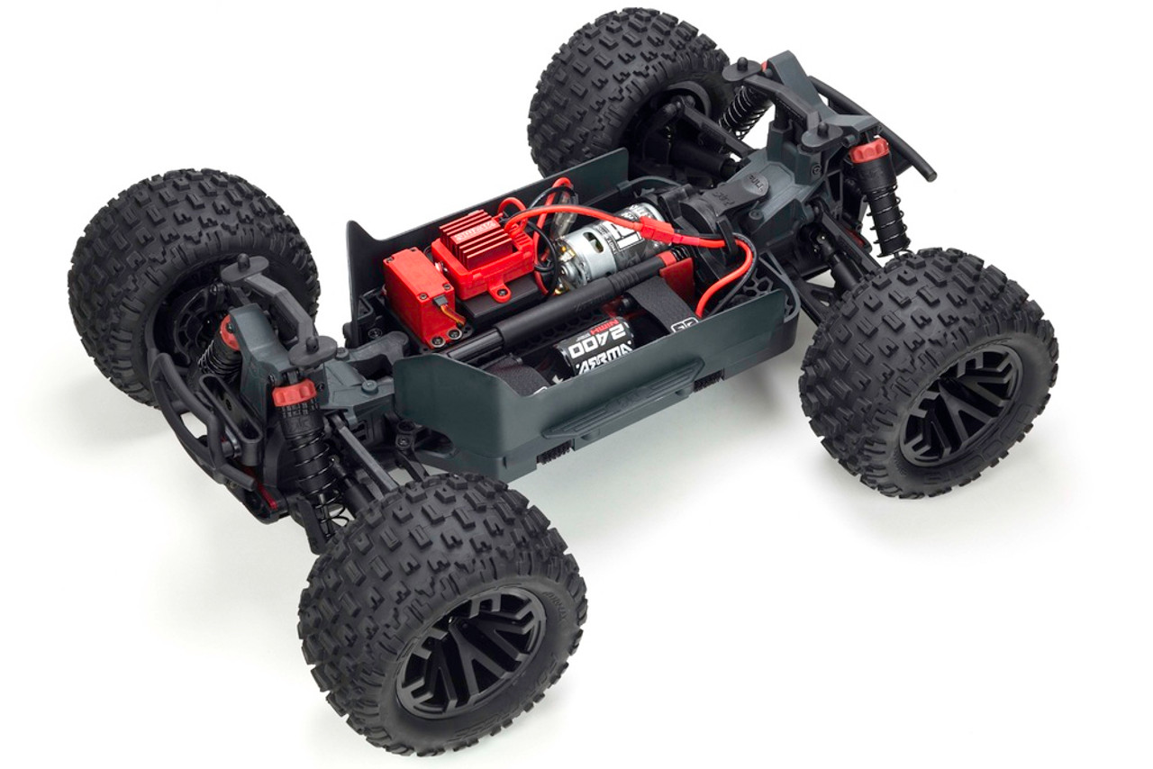 ARRMA GRANITE 4X4 MONSTER TRUCK, GREEN/BLACK WITH BATTERY & CHARGER
