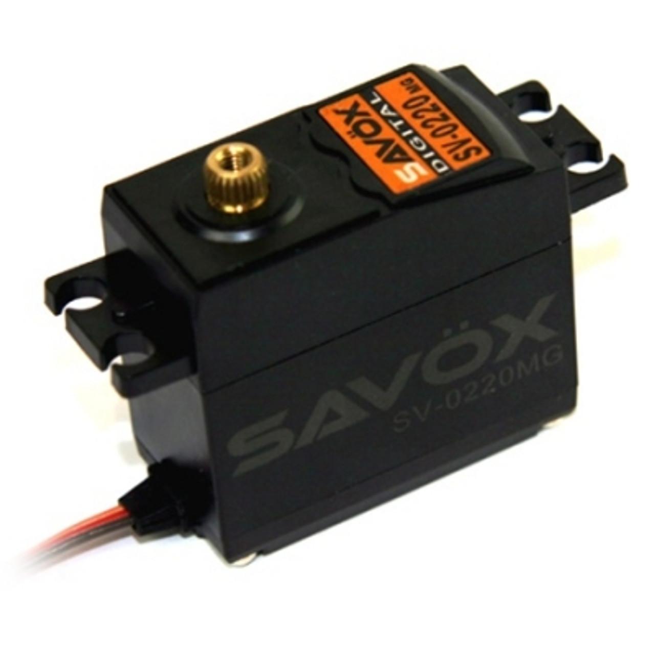 Standard MG High Voltage Servo 8kg @ 7.4v