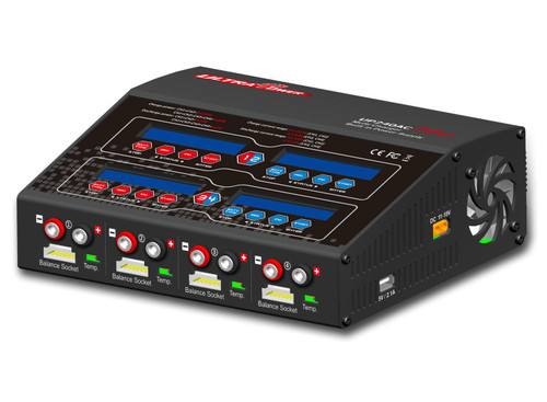 Ultra Power 240AC Plus multi charger, 4 outlet up to 12A