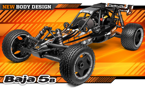HPI BAJA 5B 2.0 WITH DBOX2 1:5 #113141