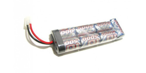 Intellect 5000MAH NIMH 8.4V 7 Cell Stick Pack w/ Tamiya Plug