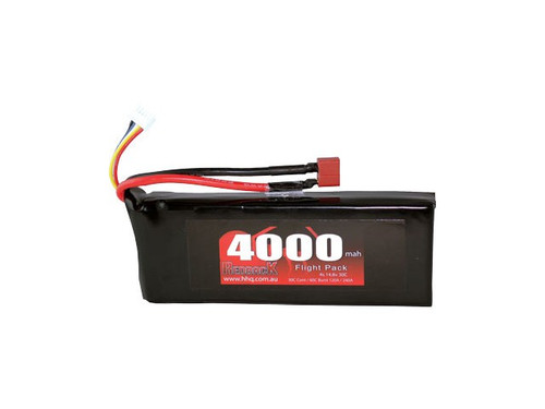 Redback 4000MAH 14.8V 4S 30C Lipo Deans