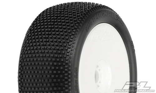 "Blockade VTR 4.0"" M3 (Soft) Off-Road 1:8 Truck Tyres Mounted 2PCS (9046-40)"