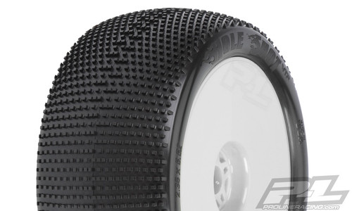 "Hole Shot VTR 4.0""  (Soft) Off-Road 1:8 Truck Tires Mounted 2PCS"