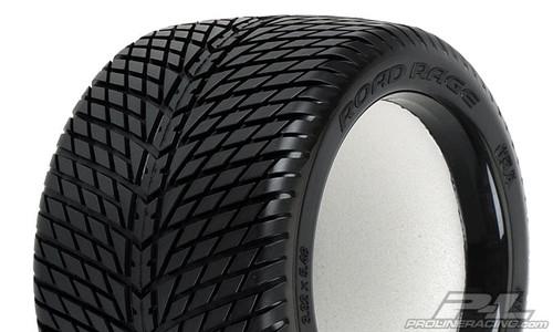 "oad Rage 3.8"" (Traxxas Style Bead) Street Truck Tyres"