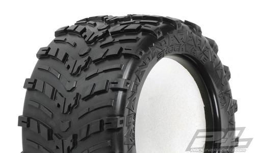 "Shockwave 3.8"" (Traxxas Style Bead) All Terrain Truck Tyres 2PCS"