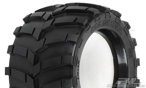 """Masher 3.8"""" (Traxxas Style Bead) All Terrain Tyres 2PCS"""