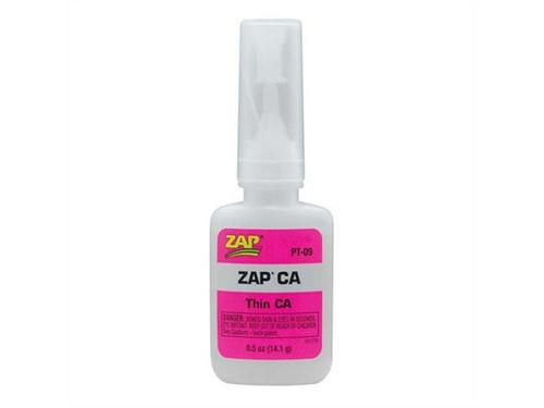 ZAP CA Pink Thin Viscosity 14.2g (1/2oz) Adhesive