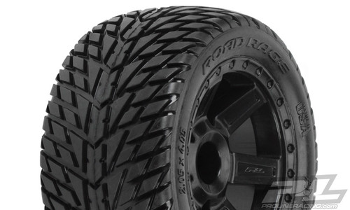 "Road Rage 2.8"" (Traxxas Style Bead) Street Truck Tyre 2PCS"