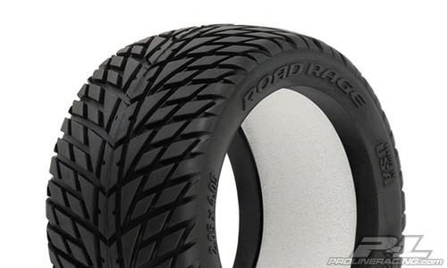 "Road Rage 2.8"" (Traxxas Style Bead) Street Truck Tyres 2PCS (1172-00)"
