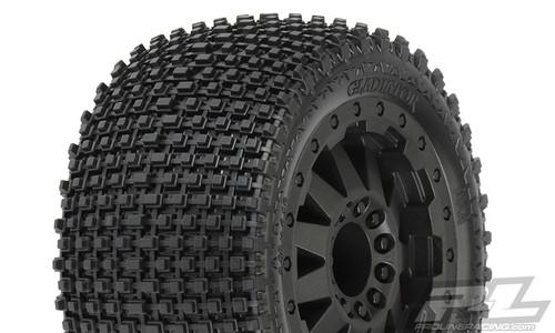 "Gladiator 2.8"" (Traxxas Style Bead) All Terrain Tyres Mounted 2PCS (10102-13)"