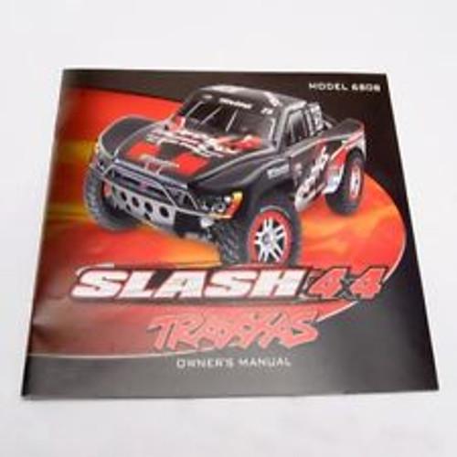 Traxxas 4x4 Slash Owners Manual 6899