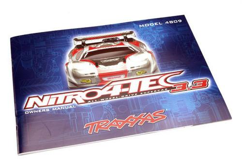 Traxxas Owners Manual Nitro 4Tec 4899R