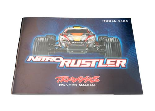 Traxxas Nitro Rustler Owners Manual 4499R