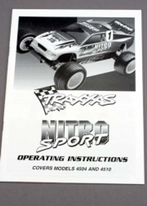 Traxxas Manual Nitro Sport 4599