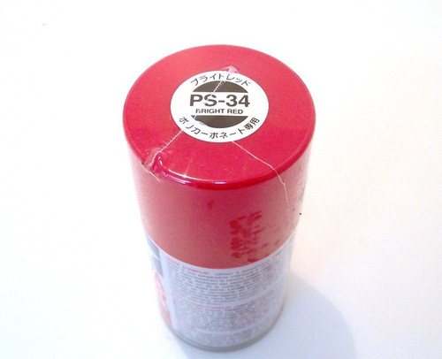 Tamiya Polycarbonate 100ml Spray - Bright Red
