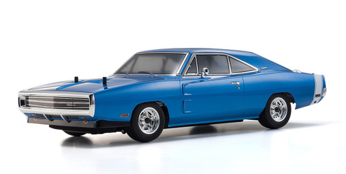 Kyosho 1/10 Fazer VEi Brushless - 1970 Dodge Charger (Blue)