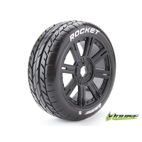 Louise 1:8  B- Rocket On-road tyres ( set of 2 )